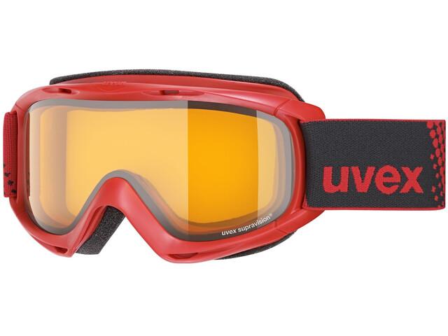 UVEX slider Enfant, red/lasergold lite